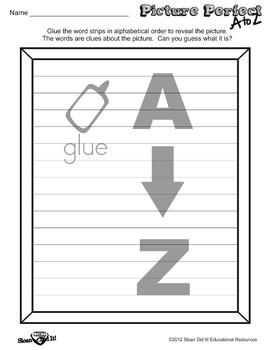 Picture Perfect A to Z - Wizard (Alphabetizing)