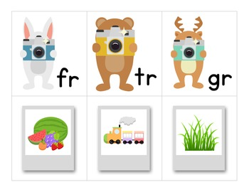 Picture Perfect Blends - A Consonant Blends Matching Activity
