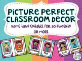 Picture Perfect Class Door Decor {Editable}
