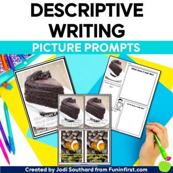 Picture Perfect Descriptive Writing {Photograph Prompts & Graphic Organizers}
