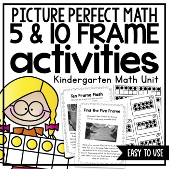Picture Perfect Math Five & Ten Frame Activities