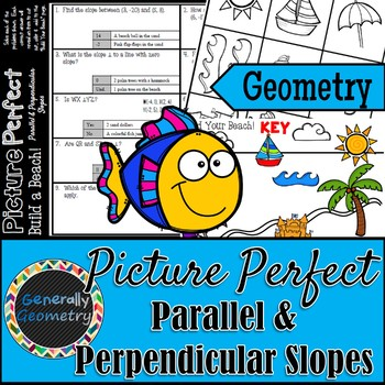 Picture Perfect: Parallel & Perpendicular Slopes-Build a Beach!