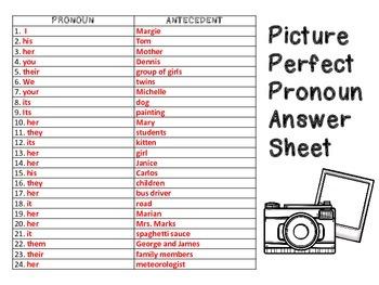 Picture Perfect Pronoun SCOOT