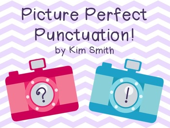 Picture Perfect Punctuation Sorting Game