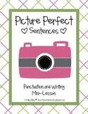 Picture Perfect Sentences {Freebie}