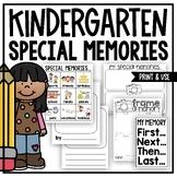 Picture Perfect Special Memories (A Kindergarten Narrative Writing Unit)