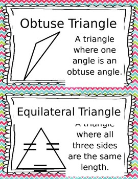 Picture Perfect Triangles- Identifying Triangles