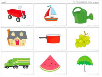 Picture & Photo Cards [ABLLS-R Aligned C14, C17, C18, C19, C20, G4, G9, G10]