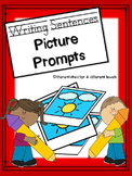 Differentiated Writing Prompts with picture