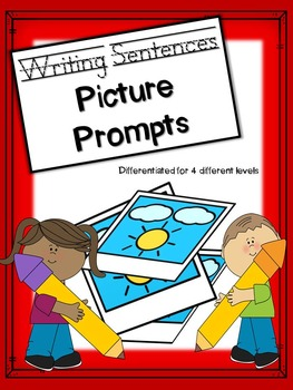 Picture Prompt Sentence Writing: Differentiated