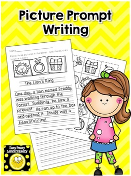 Picture Prompt Writing Activity