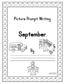 Journal Writing For the Whole Year with Picture Prompts