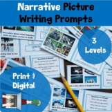 Picture Prompt Writing Task Cards: Narrative