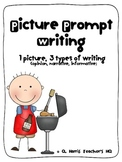 Picture Prompt Writing (opinion, informative, narrative)