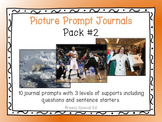 Picture Prompts 2 - Leveled Journal Writing for Special Education - Pack 2