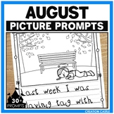 August Writing Picture Prompts