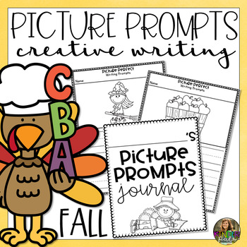 NO PREP Picture Prompts- Fall Themed Creative Writing Prompts