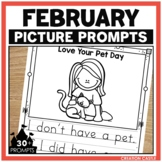 February Writing Picture Prompts