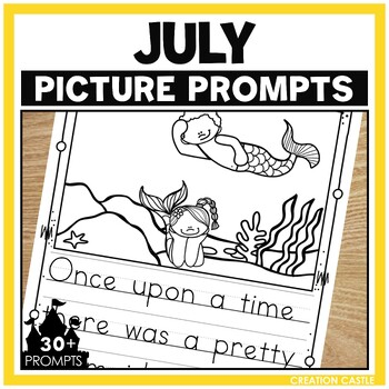 Picture Prompts for July Writing