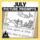 July Writing Picture Prompts