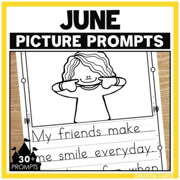June Writing Picture Prompts