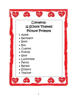 Picture Prompts: School Theme-Aligning Text Types to Core Writing Standards