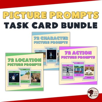 Picture Prompts Task Card Bundle