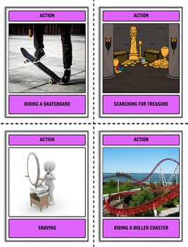 Picture Prompts Task Card Bundle
