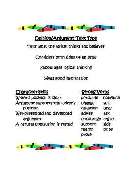 Picture Prompts: Weather; Aligning Common Core Writing with Text Types