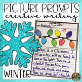 Creative Writing Prompts- Winter Themed Writing Centers