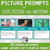 Picture Prompts for Writing and Discussion
