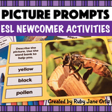 Picture Prompts for Writing and Speaking - ESL Newcomer Activities