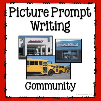Picture Prompts for Journal Writing: Community