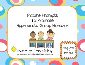 Picture Prompts to Promote Appropriate Group Behavior