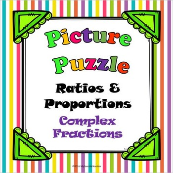 Picture Puzzle Complex Fractions...Puzzles + Math = Awesome!!