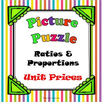 Picture Puzzle Unit Prices...Puzzles + Art + Numbers = AWESOME!
