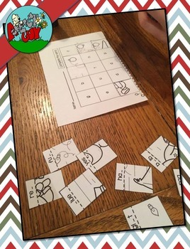 Christmas Picture Puzzles - Missing Letters / Complete the Word