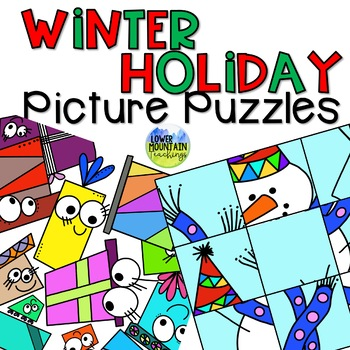 Winter Holiday Puzzles  Create Your Own Content