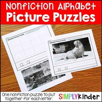 Picture Puzzles - Nonfiction Alphabet