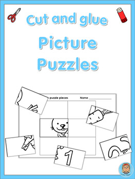 Picture Puzzles Numbers 1-10