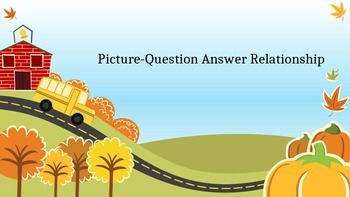 Picture-Question-Answer Realationship
