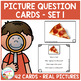 Picture Question Inference Card Bundle