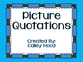 Picture Quotations