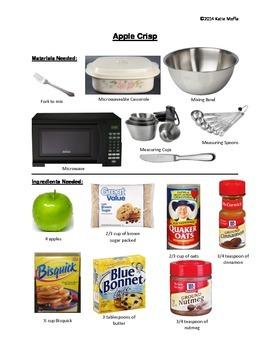 Picture Recipe-- Apple Crisp