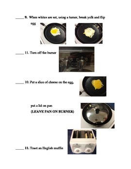 Picture Recipe Breakfast Sandwich