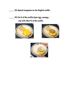Picture Recipe Breakfast Sandwich