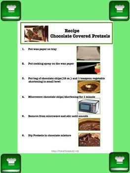 Picture Recipe: Chocolate Covered Pretzels