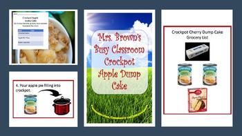 Picture Recipe:  Crockpot Apple Dump Cake