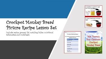 Picture Recipe:  Crockpot Monkey Bread