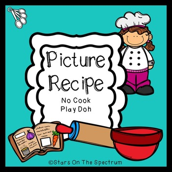 Picture Recipe No Cook Play Doh